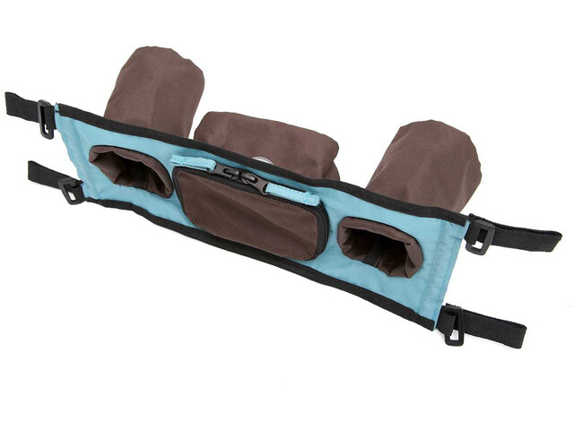 Croozer Flaskeholder til Kid Plus / Kid for 1 opp til 2015 Barn brown/sky blue